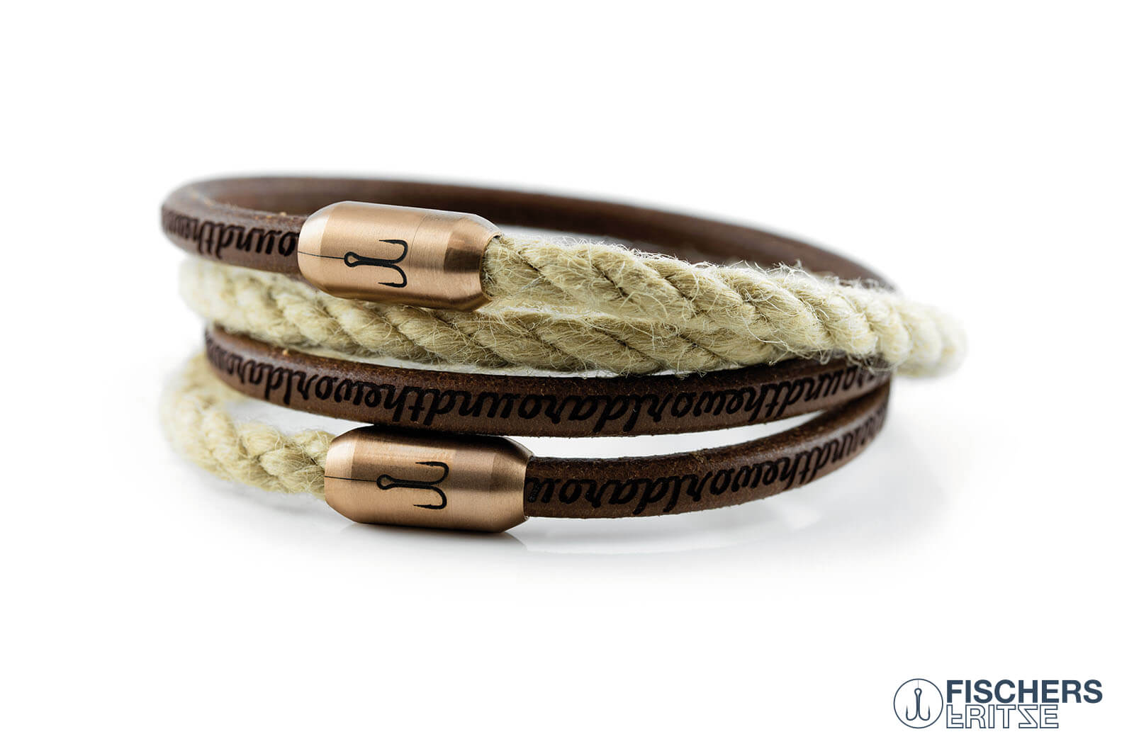 armband-fischers-fritze-koenigskombigarnele-natur-gefettet-natur-leder-segeltau