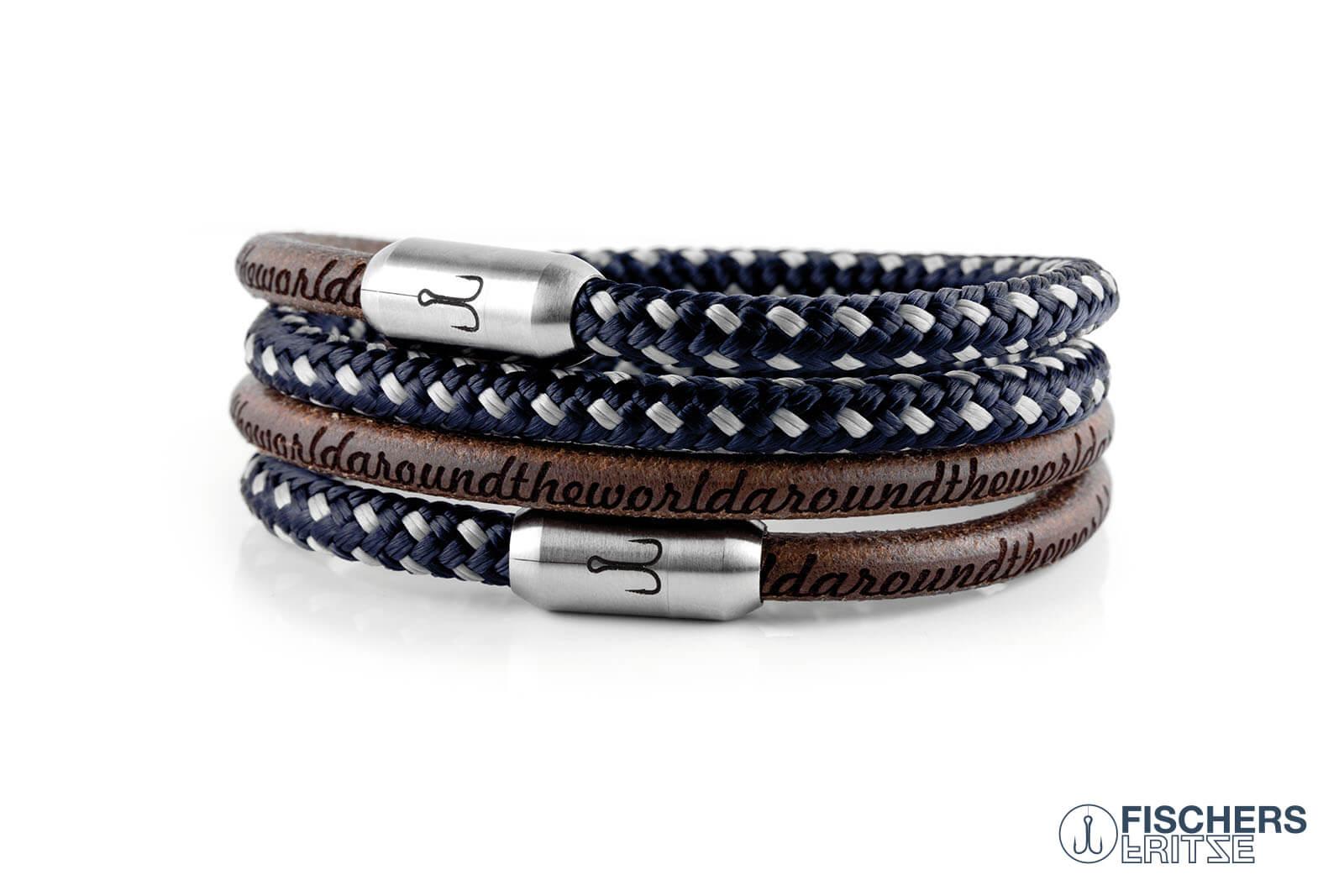 armband-fischers-fritze-kombigarnele-natur-gefettet-blau-grau-leder-segeltau