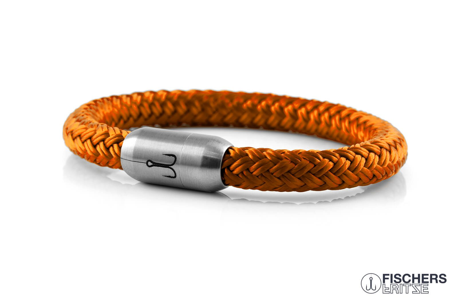 armband fischers fritze makrele orange segeltau