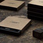 Geschenkverpackung für Fischers Fritze Armbaender für Damen und Herren, aus Segeltau und Leder, schwarzer Verschluss