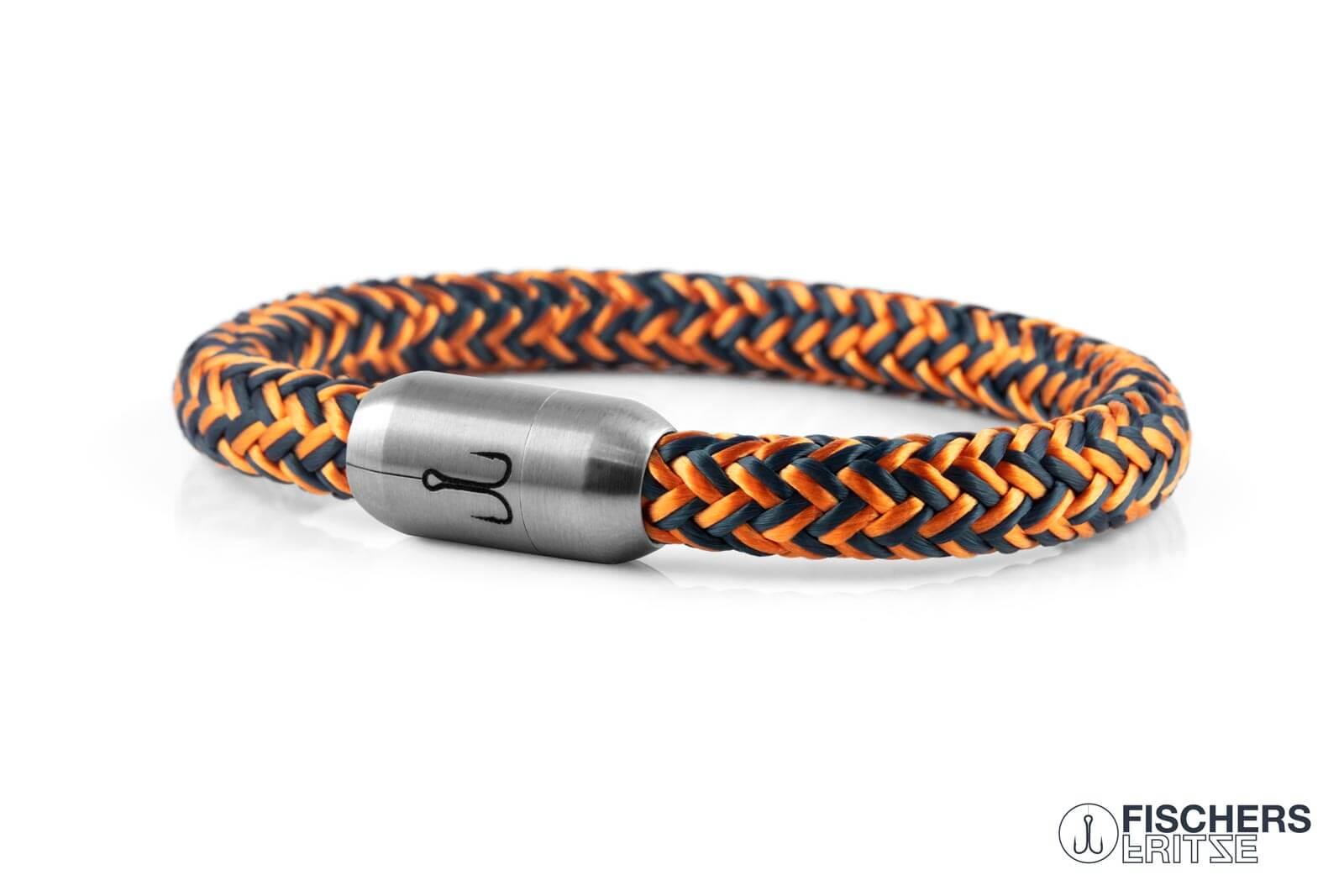 armband-fischers-fritze-makrele-orange-petrol-segeltau
